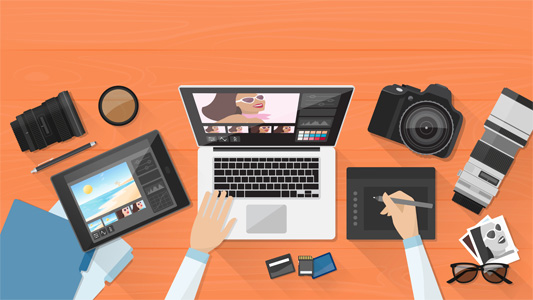 ایجاد تصاویر بهتر برای نوشته های سایت